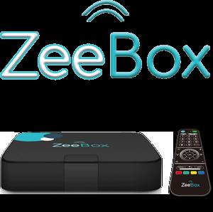 Zeebox et télécommande pour senior