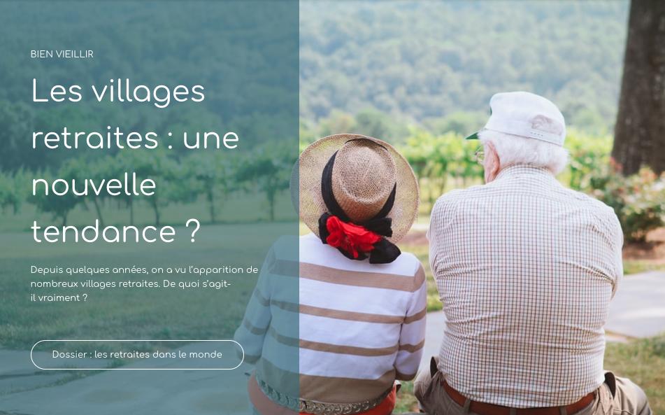 villages retraites