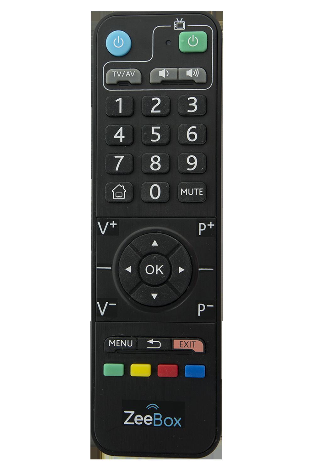 La Télécommande ZeeBox