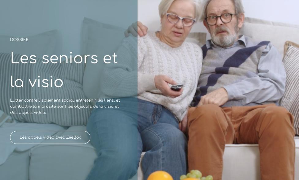 les seniors et la visio